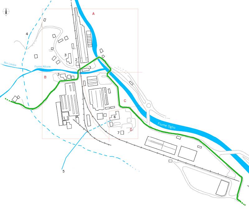 Mappa Forno Allione