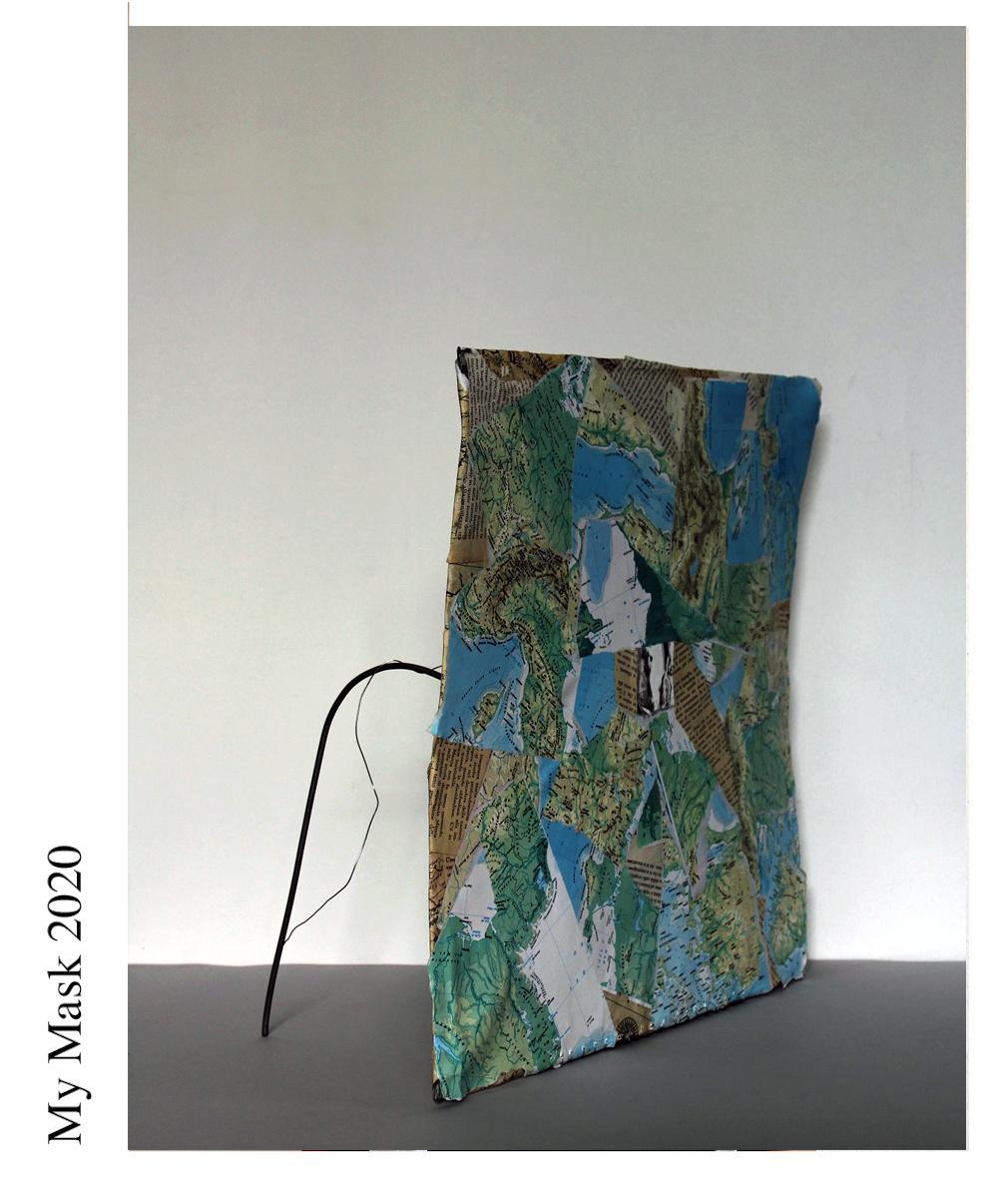 Artist- Claudia Canavesi Piano di confine e di ribaltamento