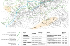 Valle dell'Allione mappa ttività estrattive