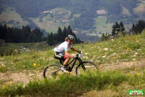 guida MTB mountain bike in Adamello