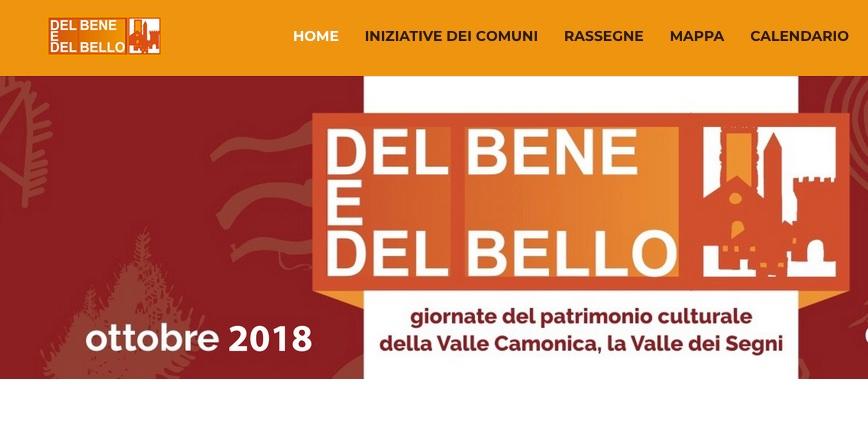 Del bene del bello 2018 a Sellero, Valle Camonica