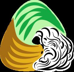 logo del progetto di coltivazione idropoonica in lana e orto terapia