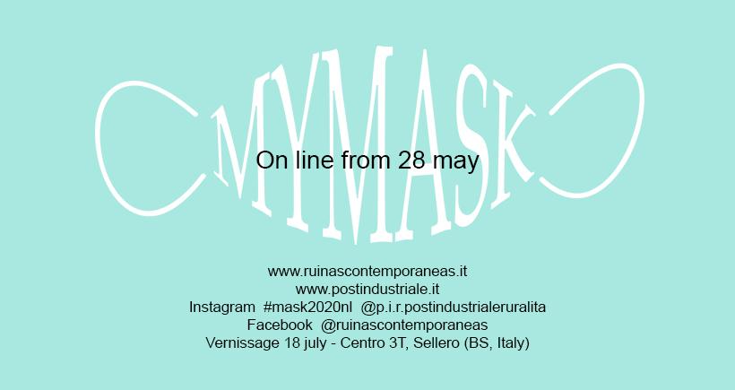 my mask una collezione di mascherine d'autore Nomadic Landscape