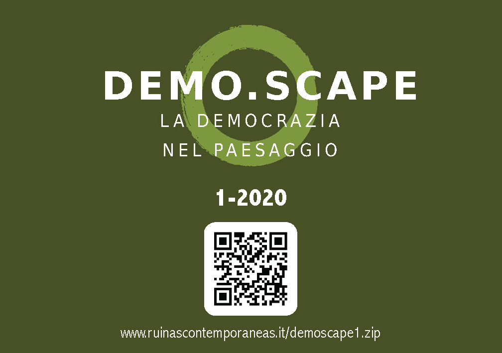 demoscape la democrazia nel paesaggio